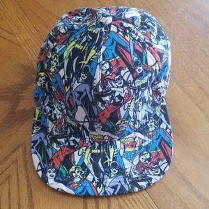 DC Comics Adjustable Flatbill Hat